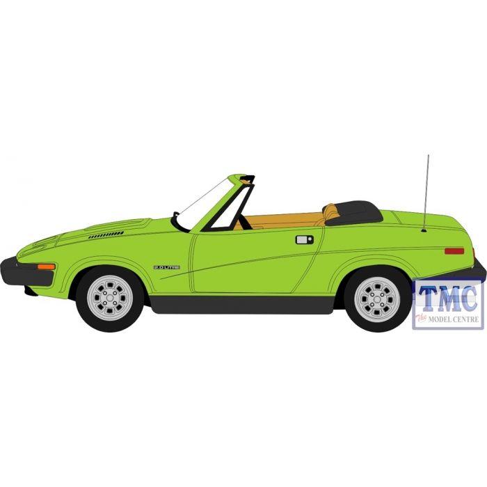 OXFORD DIECAST 76TR7001 1:76 OO SCALE Triumph TR7 Convertible Triton Green