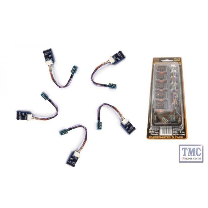 DCC27 Gaugemaster OMNI 21 /& 8 Pin Decoder