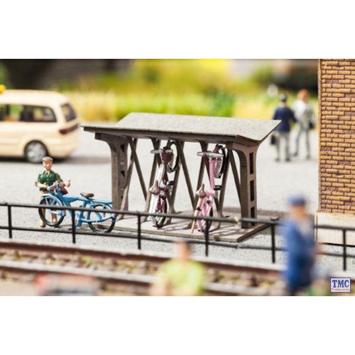 N14356 Noch OO Gauge Bicycle Stand