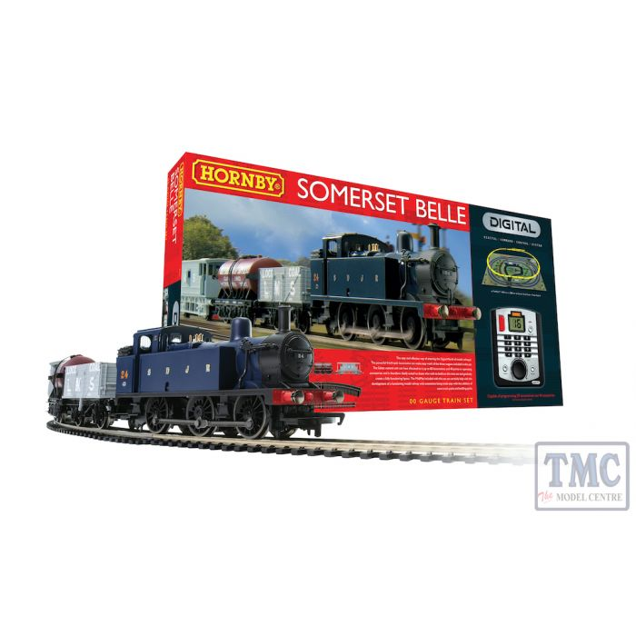 R1125 Hornby OO Gauge Somerset Belle Digital Train Set