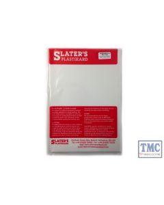 0160 Slaters 0.060 (1.50mm) x 330mm x 220mm sheet White  Plastikard