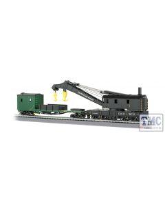 16122 Bachmann OO/HO Scale 250-Ton Steam Crane & Boom Tender - Chesapeake & Ohio