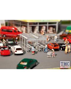 180606 Faller OO/HO Gauge Supermarket Trolley Park Kit V