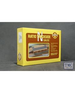 207 Ratio GWR Station Train Shed N Gauge Plastic Kit