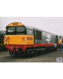 2D-058-001 Dapol N Gauge Class 58 003 Railfreight Red Stripe