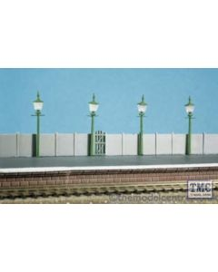 213 Ratio Staion/Street Lamps (4 per pack) N Gauge Plastic Kit