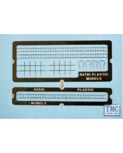 218 Ratio Signal Laddering (etched brass) N Gauge Plastic Kit