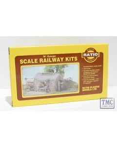 220 Ratio Stone Goods shed N Gauge Plastic Kit
