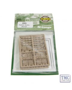 221 Ratio Pallets Sacks Barrels N Gauge Plastic Kit