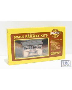 223 Ratio GWR Wooden Signal Box (inc. interior) N Gauge Plastic Kit