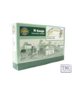 248 Ratio Modular Covered Footbridge N Gauge Plastic Kit