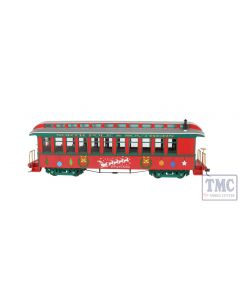 26206 Bachmann ON30 Scale Convertible Coach Christmas (Lighted)