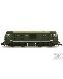 2D-012-011 Dapol N Gauge Class 22 D6327 BR Green Amended WP Disc Headcode