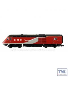 2D-019-006 Dapol N Gauge Class 43 HST East Coast 43309/306 4 Car Set