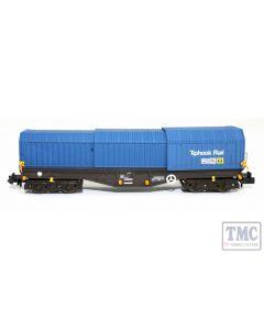 2F-039-009 Dapol N Gauge Telescopic Hood Wagon Tiphook Blue 33 70 0899 046-3