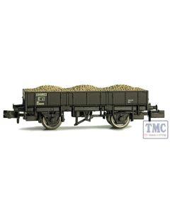 2F-060-014 Dapol N Gauge Grampus Wagon BR Black DB984292