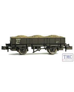 2F-060-015 Dapol N Gauge Grampus Wagon BR Black DB985834
