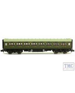 2P-012-103 Dapol N Gauge Maunsell Coach SR 3rd Class Lined Green 780