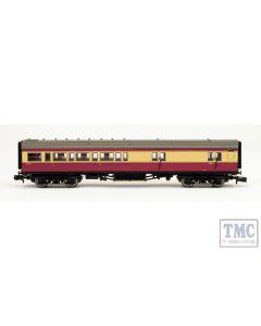 2P-012-654 Dapol N Gauge Maunsell BR Brake 3rd Class Coach Crimson/Cream 3231