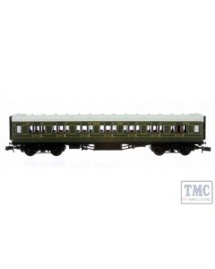 2P-014-060 Dapol N Gauge Maunsell High Window FK Coach 7228 Lined Olive Green