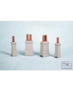 """EG257 Evergreen Plastics 0.125/"""" x 0.25/"""" Rectangular tube 3 per pack"""