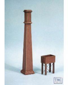 314 Ratio Industial Chimneys & Fittings N Gauge Plastic Kit