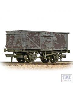 37-227B Bachmann OO Gauge BR 16T Steel Mineral Wagon BR Grey (Late) - Weathered