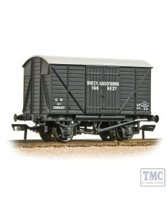 37-904A Bachmann OO Gauge GWR 12T Shock Van Planked Ends GWR Grey