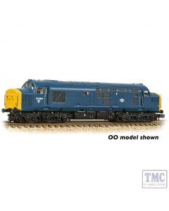 371-465A Graham Farish N Gauge Class 37/0 Centre Headcode 37284 BR Blue