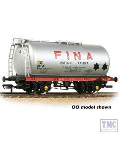 373-784 Graham Farish N Gauge BR 45T TTA Tank Wagon 'Fina' Silver