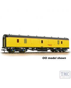 374-040A Graham Farish N Gauge BR Mk1 BG Brake Gangwayed Generator Van Network Rail Yellow
