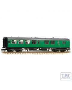374-432 Graham Farish N Gauge SR Bulleid Brake Third Semi-Open BR (Ex-SR) Malachite Green