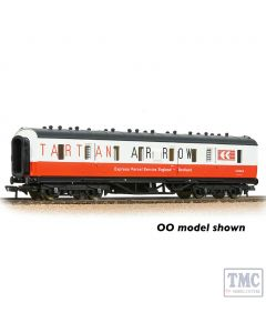 374-892 Graham Farish N Gauge LMS Stanier 50ft Full Brake Tartan Arrow