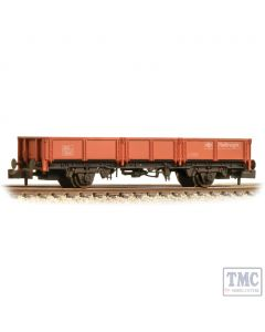 377-551B Graham Farish N Gauge BR OCA Open Wagon BR Railfreight Red - Weathered