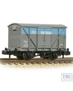 377-629 Graham Farish N Gauge BR 12T Ventilated Van Plywood Doors BR Departmental Rail Stores