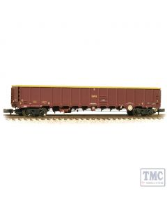 377-651A Graham Farish N Gauge MBA Bogie Open Wagon Without Buffers EWS - Weathered