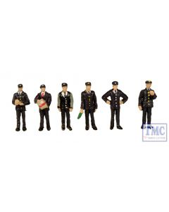 379-318 Scenecraft N Gauge 1960/70s Station Staff