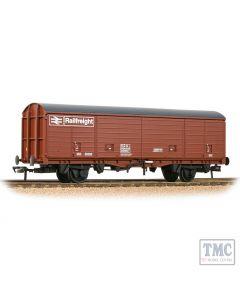 38-148 Bachmann OO Scale BR VDA Van BR Freight Brown (Railfreight)