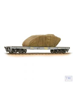 38-740 Bachmann OO Gauge War Office 'Parrot' Bogie Wagon WÀÑD with Sheeted Tank Load