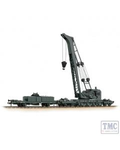 38-801 Bachmann OO Gauge Ransomes & Rapier 45T Steam Breakdown Crane GWR Grey