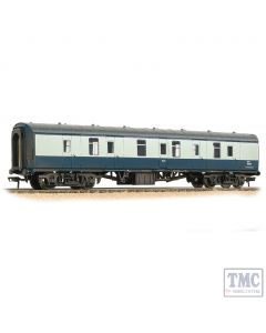 39-175F Bachmann OO Gauge BR Mk1 BG Brake Gangwayed BR Blue & Grey  - Weathered