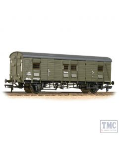 39-529 Bachmann OO Gauge SR CCT Covered Carriage Truck BR Departmental Olive Green