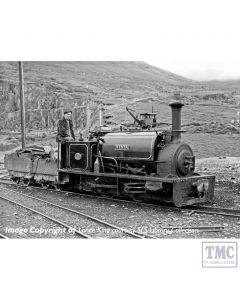 391-052 Bachmann OO9 Narrow Gauge Quarry Hunslet 0-4-0 Tank 'Nesta' Penrhyn Quarry Lined Black
