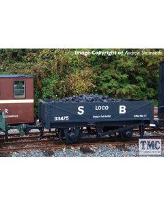 393-151 Bachmann OO9 Narrow Gauge RNAD Rebuilt Open Wagon Welsh Highland Railway Red