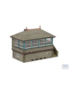 42-176 Scenecraft N Gauge Stone Signal Box