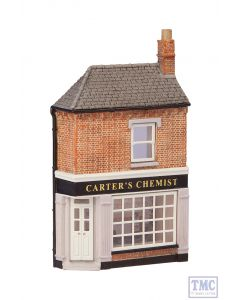 42-245 Scenecraft N Gauge Low Relief Corner Chemists
