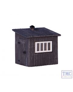 42-558 Scenecraft N Gauge Corrugated Metal Shed