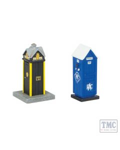 42-585 Scenecraft N Scale Roadside Rescue Phone Boxes