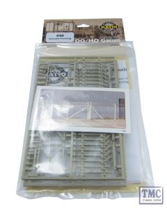 436 Ratio Security Fencing OO Gauge Plastic Kit