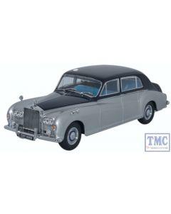 43RRP5001 Oxford Diecast 1:43 Scale Rolls Royce Phantom V James Young Navy_Silver Rolls Royce Phantom V
